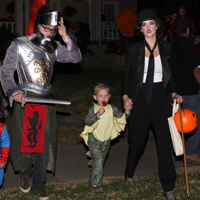 Liv and Milo Mime Their Way Through Trick-or-Treating