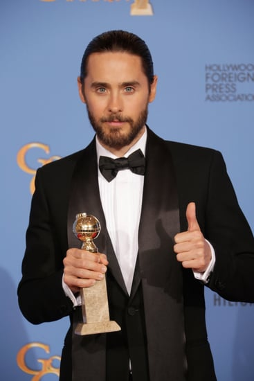 Jared-Leto-gave-his-win-thumbs-up