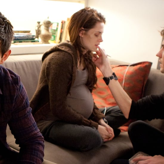 Pregnant Kristen Stewart in Breaking Dawn Part 1 Pictures