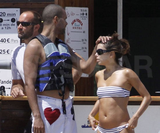 Photo of Eva Longoria and Tony Parker Together in St Tropez on Vacation