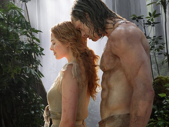 Naked Costars! Carb Craziness! 10 Wildest Revelations from Alexander Skarsgard and Margot Robbie's Live Tarzan Q&A