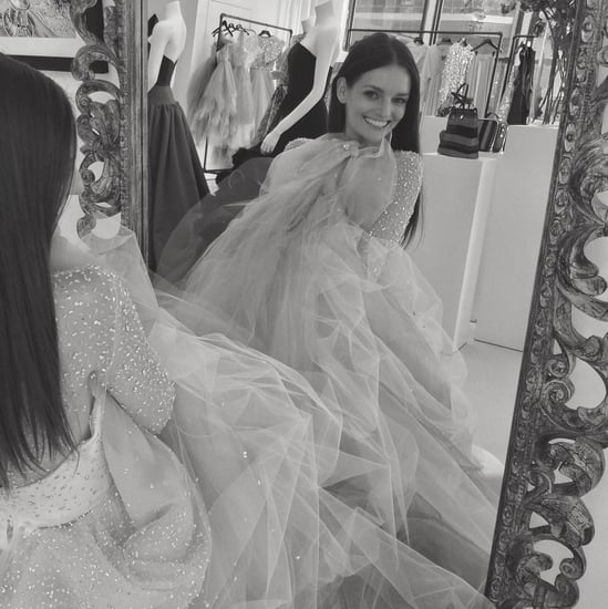 Lydia Hearst's Christian Siriano Wedding Dress