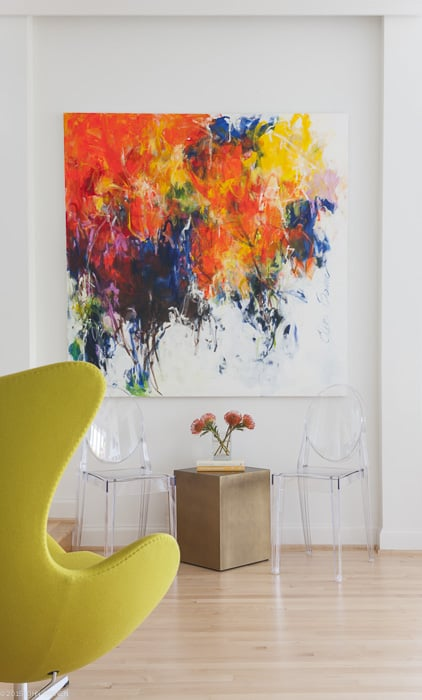 Trend Statement Art The Most On Trend Art To Hang On