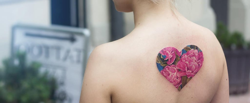 These Mesmerizing Double Exposure Tattoos Are Filled With Colorful Designs