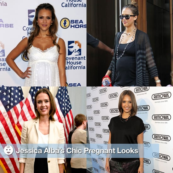 Pregnant Pictures of Jessica Alba