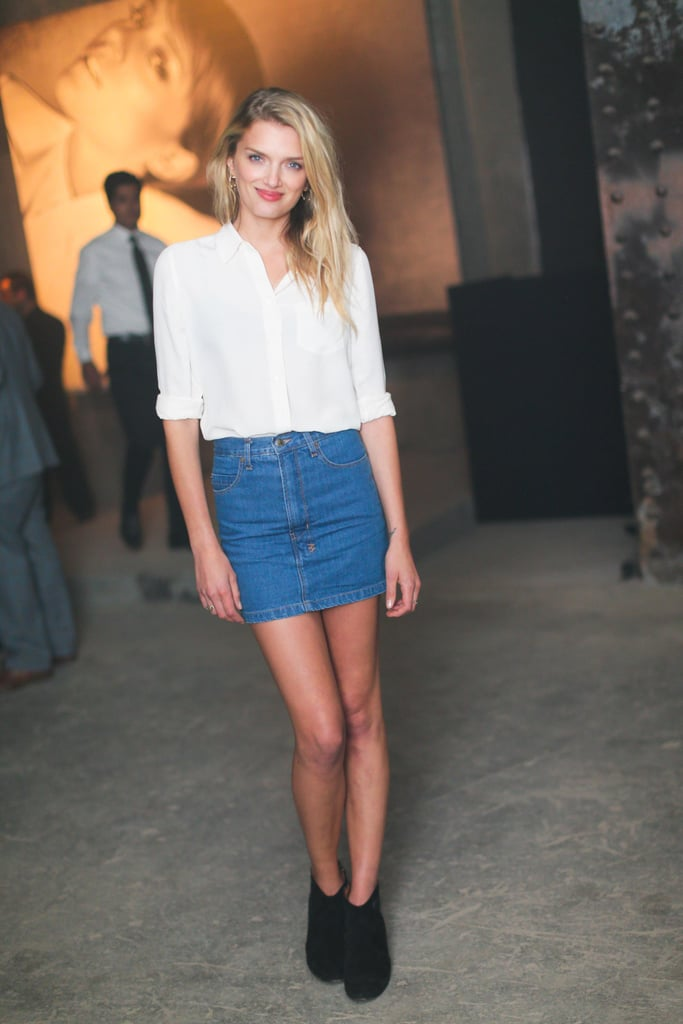 Lily Donaldson at a party for Absolut Elyx Vodka. Source: David X Prutting/BFAnyc.com
