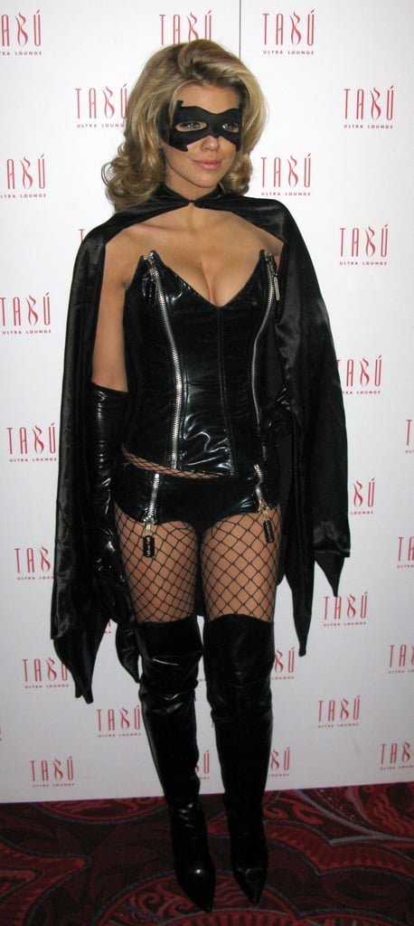 AnnaLynne McCord zipped into a sexy superhero costume in 2009.