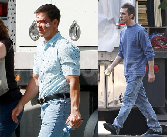 Photos of Christian Bale and Mark Wahlberg