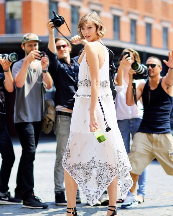 Karlie Kloss photographed by Phil Oh. Photo courtesy of Free People