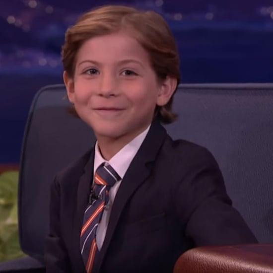 Jacob Tremblay Does Blue Steel Pose on Conan O'Brien