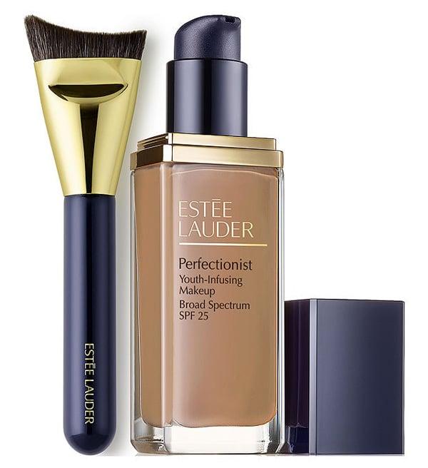 Estee Lauder Perfectionist Foundation and Brush