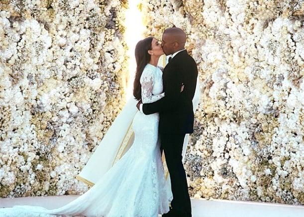 Look Back at Kim Kardashian's Stunning Givenchy Wedding Gown