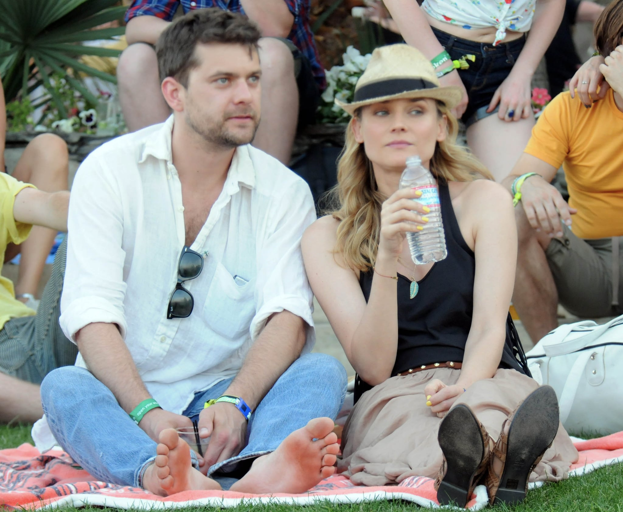 Joshua Jackson and Diane Kruger were too cute in 2011.