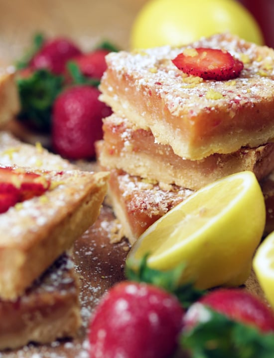 Strawberry-Lemon Bars