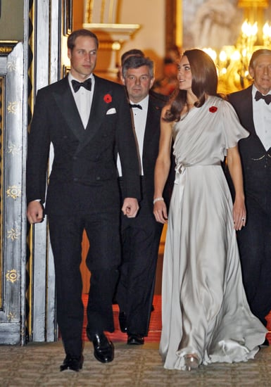 Prince William and Kate Middleton at National Memorial Arboretum dinner in London.