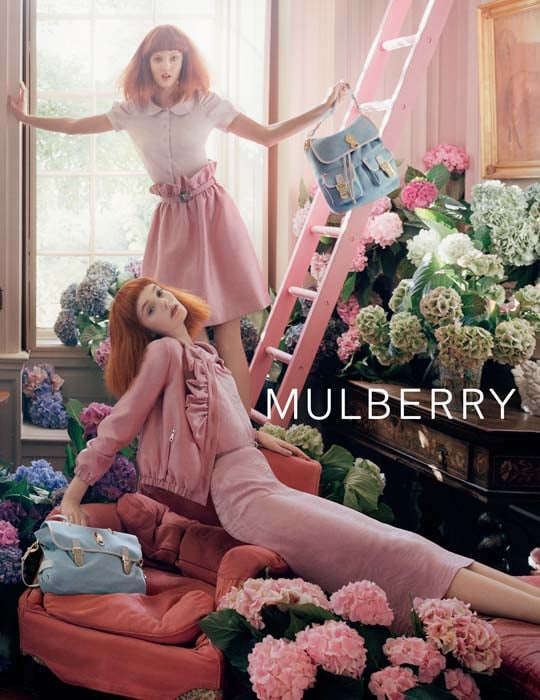 Lindsey Wixson, Nimue Smit for Mulberry, by Tim Walker