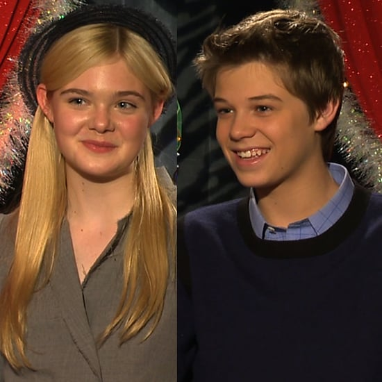 Elle Fanning Colin Ford We Bought a Zoo Interview (Video)