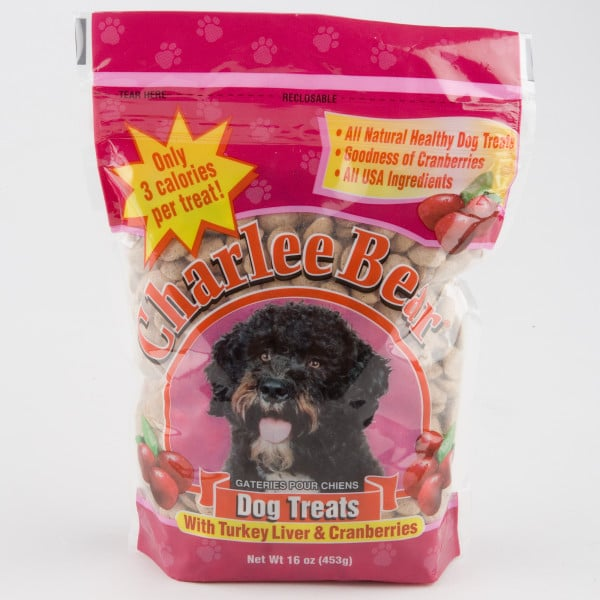 These Charlee Bear turkey liver and cranberry dog treats ($5) will allow your pooch to enjoy his own Thanksgiving meal alongside his generous owners.
