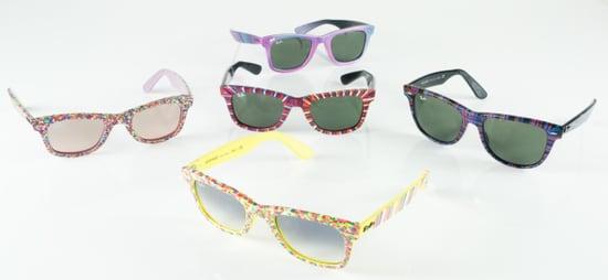 The Sunglass Hut Custom-Made Ray-Ban Wayfarers