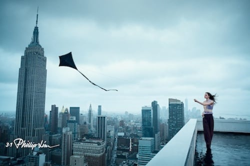 Philip Lim's High Flying Ad Campaign; MMM Designer Revealed