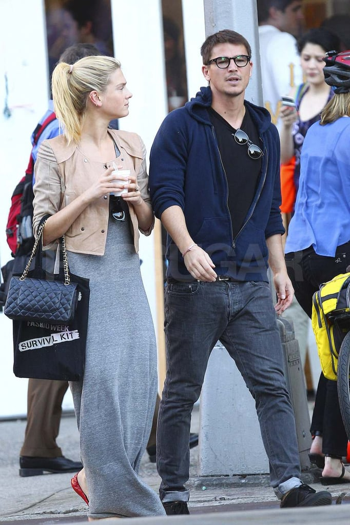 Josh Hartnett and Sophia Lie Cool Down With a Southern Treat