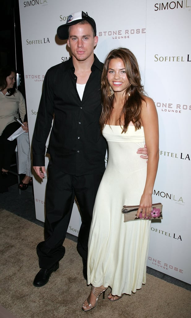 Channing and Jenna posed together at a June 2006 event in LA.