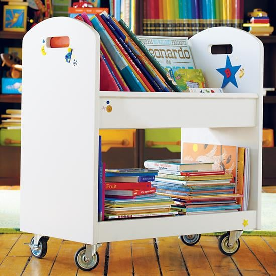 The Land of Nod Local Branch Library Cart