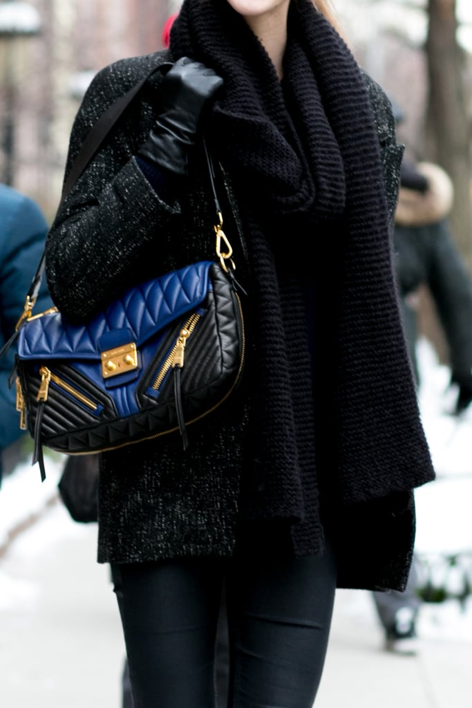 Well, this little Miu Miu successfully gave us bag envy.