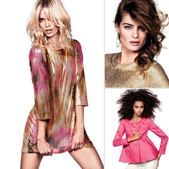 Isabeli Fontana and Natasha Poly Work It for H&M's Spring '12 Look Book: See What Trends are Set to Sizzle