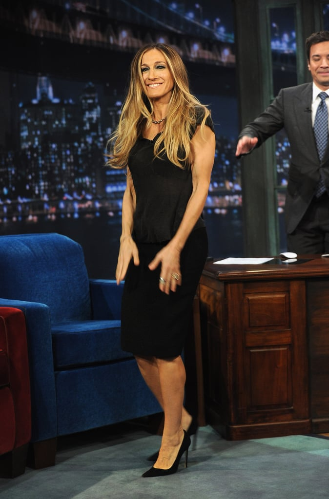 Sarah Jessica Parker wowed in a little black dress.