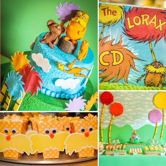 Seuss Sensation! A Lorax-Inspired Birthday Party