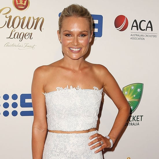 Kyly Clarke, Lee Watson WAGs at 2014 Allan Border Medal