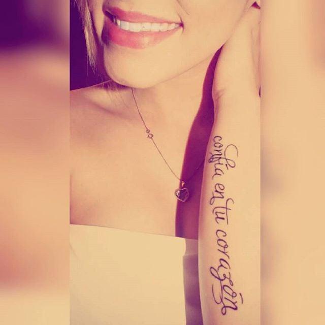 Quote tattoos in spanish popsugar latina for Tattoo in spanish