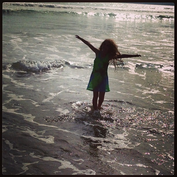 Soleil Moon Frye took her girls to the beach for the afternoon. Source: Instagram user moonfrye