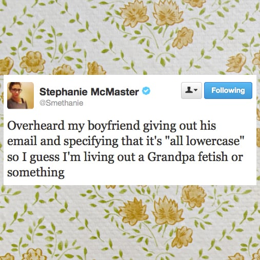 Dating Tweets January 2014