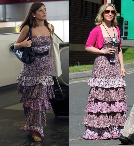 Who Wore it Better? Tierred Floral Dress