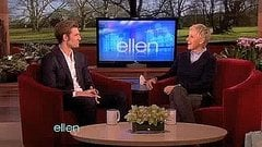 Alex Pettyfer Goes Shirtless on Ellen — Totally Hot or Not Really My Thing?