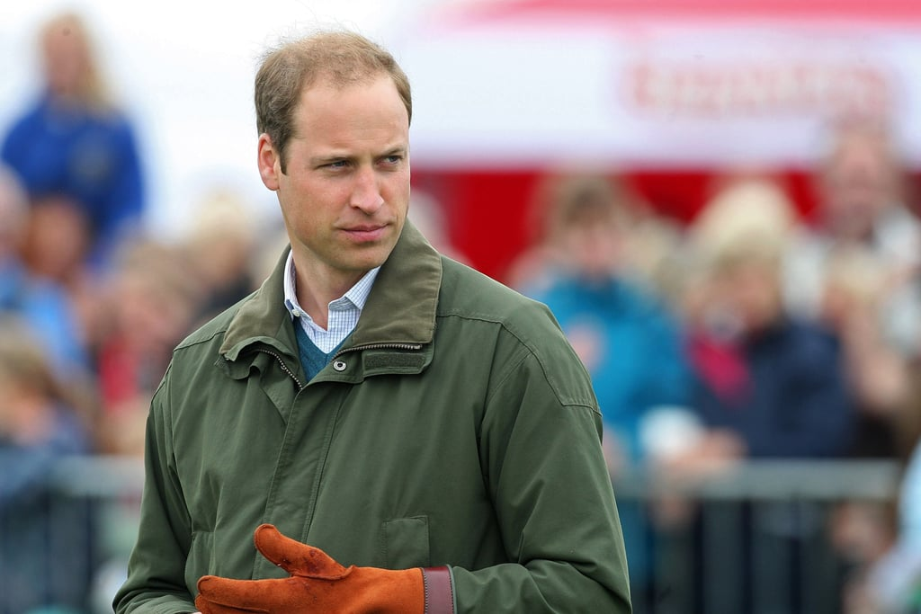"""Prince William Trades """"Extremely Good-Looking"""" George For Handsome Animals"""