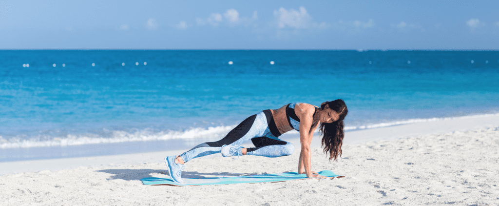 Tone It Up With This Ab-Tastic Beach Workout