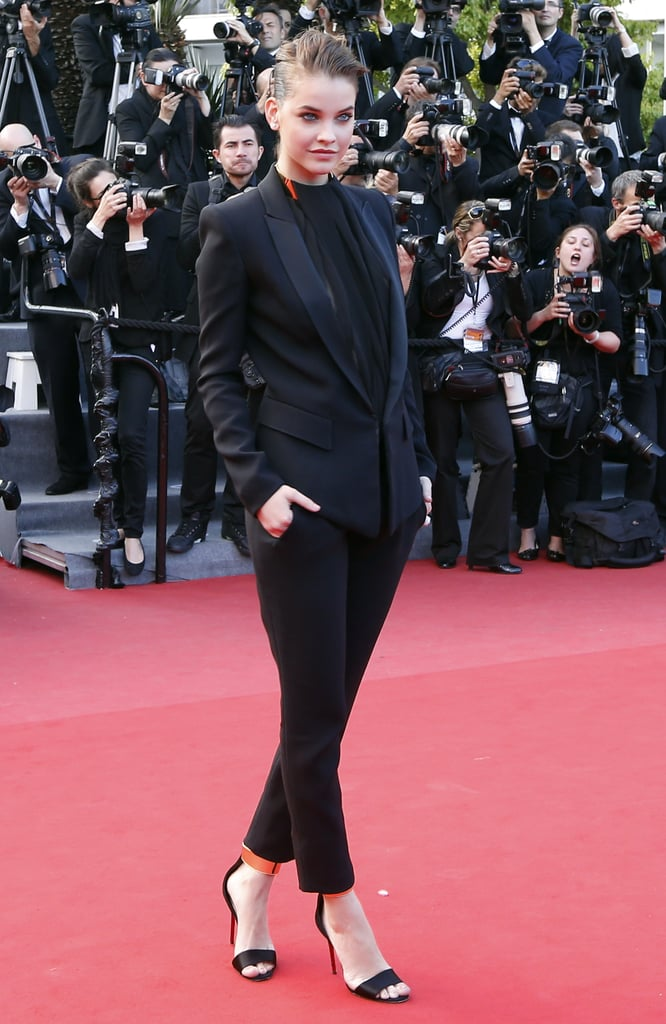 Barbara Palvin wore Alexandre Vauthier at the Cannes premiere of Behind the Candelabra.