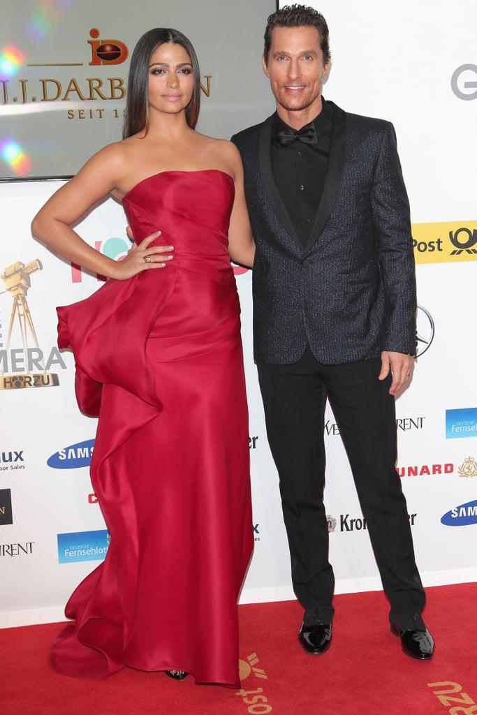 Matthew McConaughey at the Goldene Kamera Awards