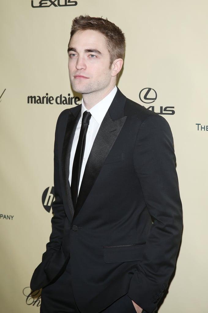 Robert Pattinson looked dapper in his tuxedo.
