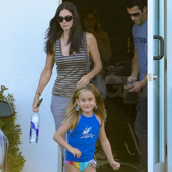 Courteney Cox Pictures With Coco Arquette