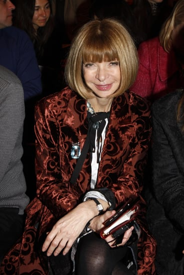 Anna Wintour Denies Video Stalkers During Milan Fashion Week
