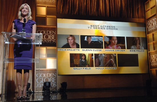 Announcing the Winners: The 2008 Golden Globe Awards