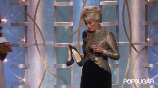 Emma Thompson Is Her Usual Amazing Self at the Globes
