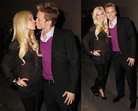 Photos of Heidi Montag and Spencer Pratt Leaving Jimmy Kimmel