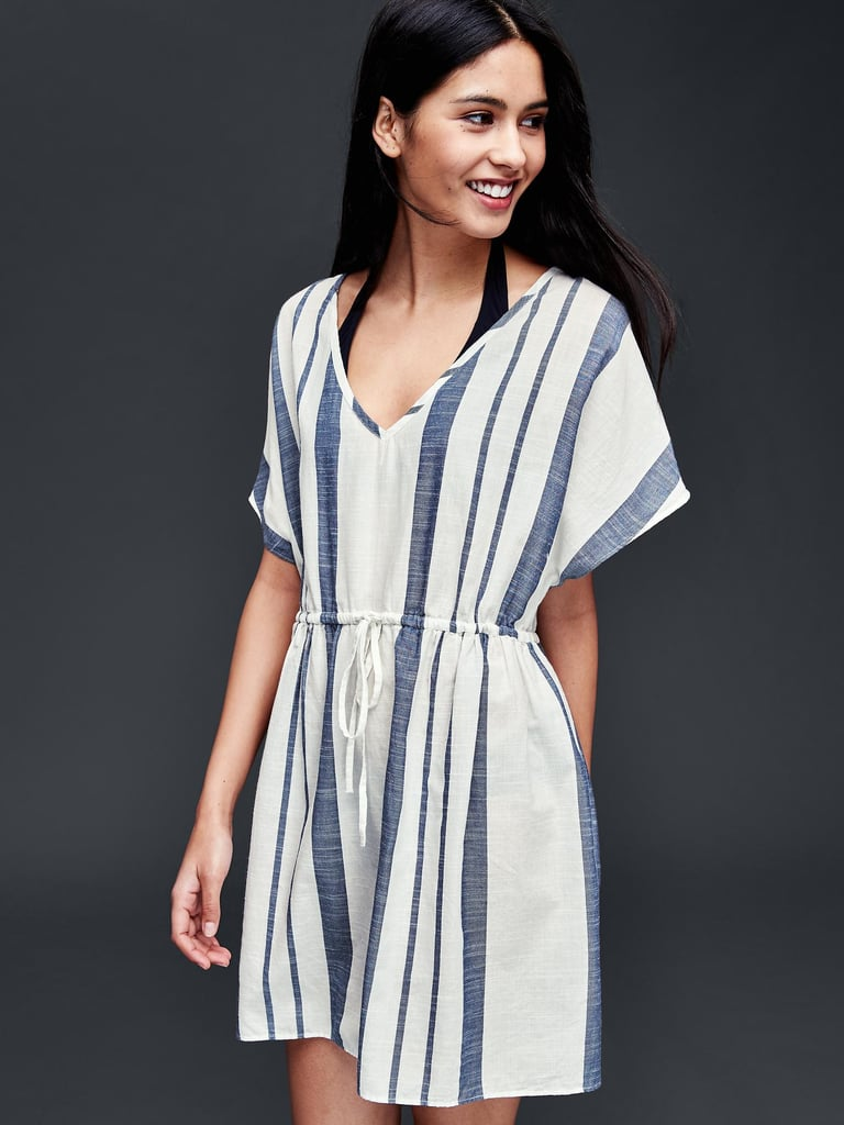 Gifting Mom with some breezy beachwear might just convince her to take a vacation too. Gap Striped Cover-Up ($50)