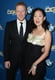 Sandra Oh posed for pictures alongside Kevin McKidd.