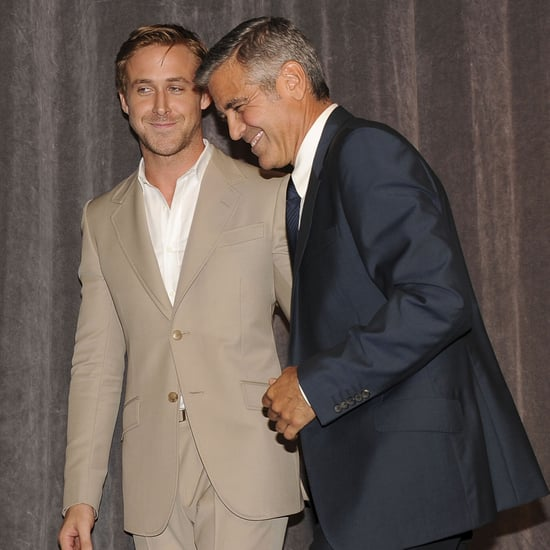 George Clooney, Stacy Keibler & Ryan Gosling TIFF Pictures